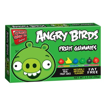 Bonbons cochon vert, Angry Birds (100 g)