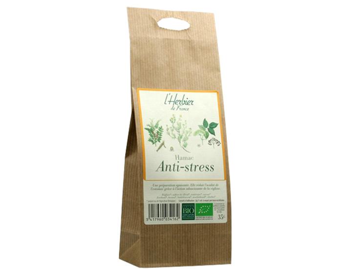 Mélange de plantes Anti stress Hamac BIO, Herbier de France (35 g)