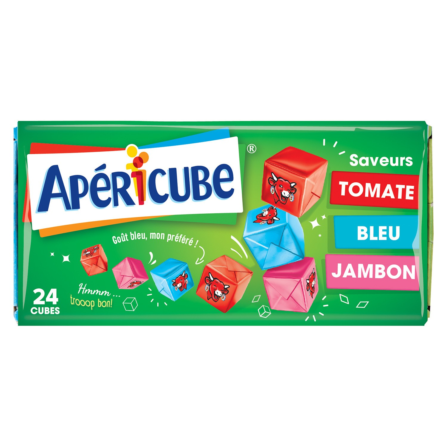 Apericubes campagne 3 saveurs (x 24, 125 g)
