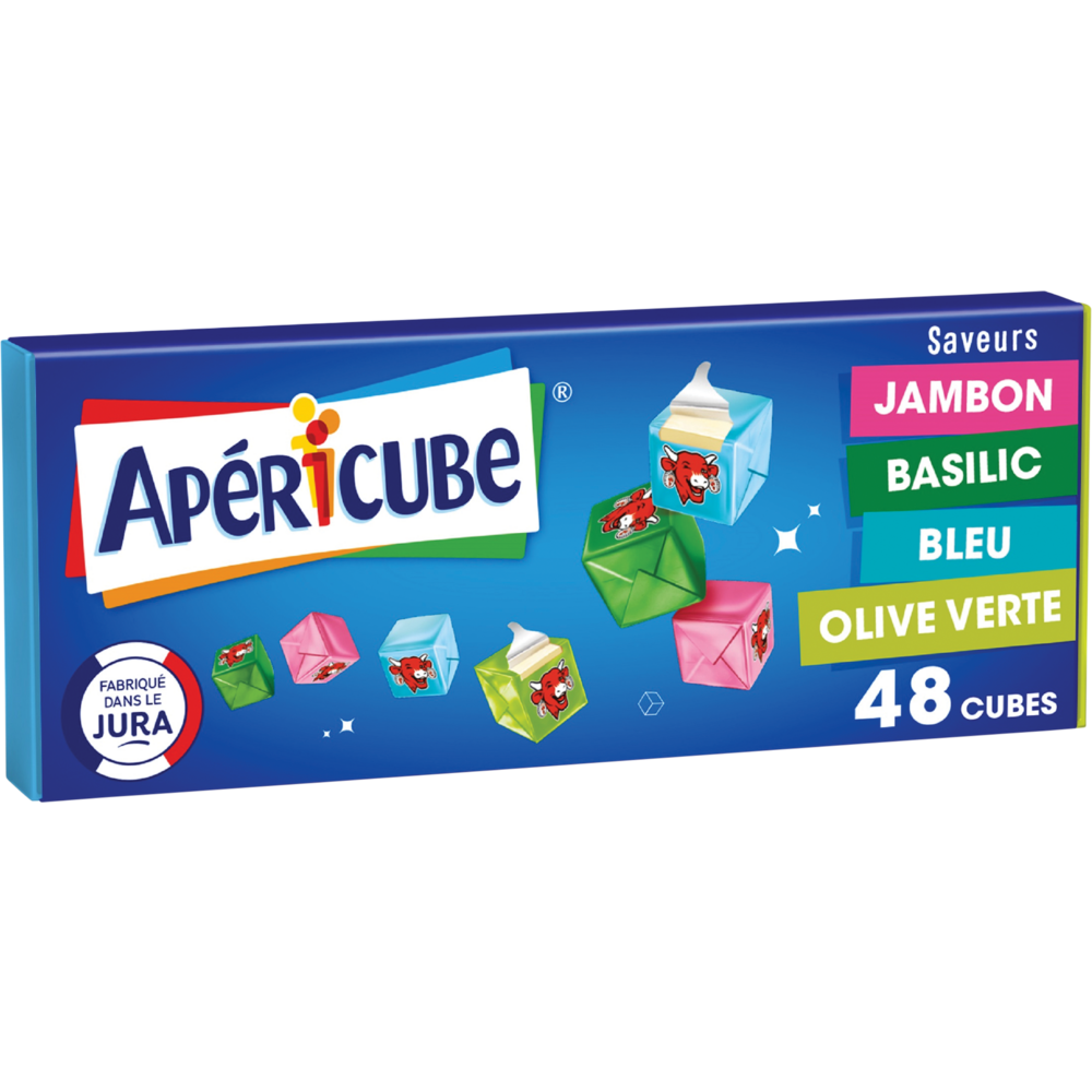Apéricubes Cocktail (x 48, 250 g)