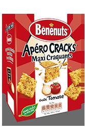 Crakers maxi craquants à la tomate, Bénenuts (90 g)