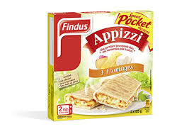 Appizzi 3 Fromages, Findus (2 x 125 g)