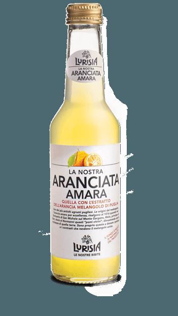 Aranciata orange amère, Lurisia (275 ml)