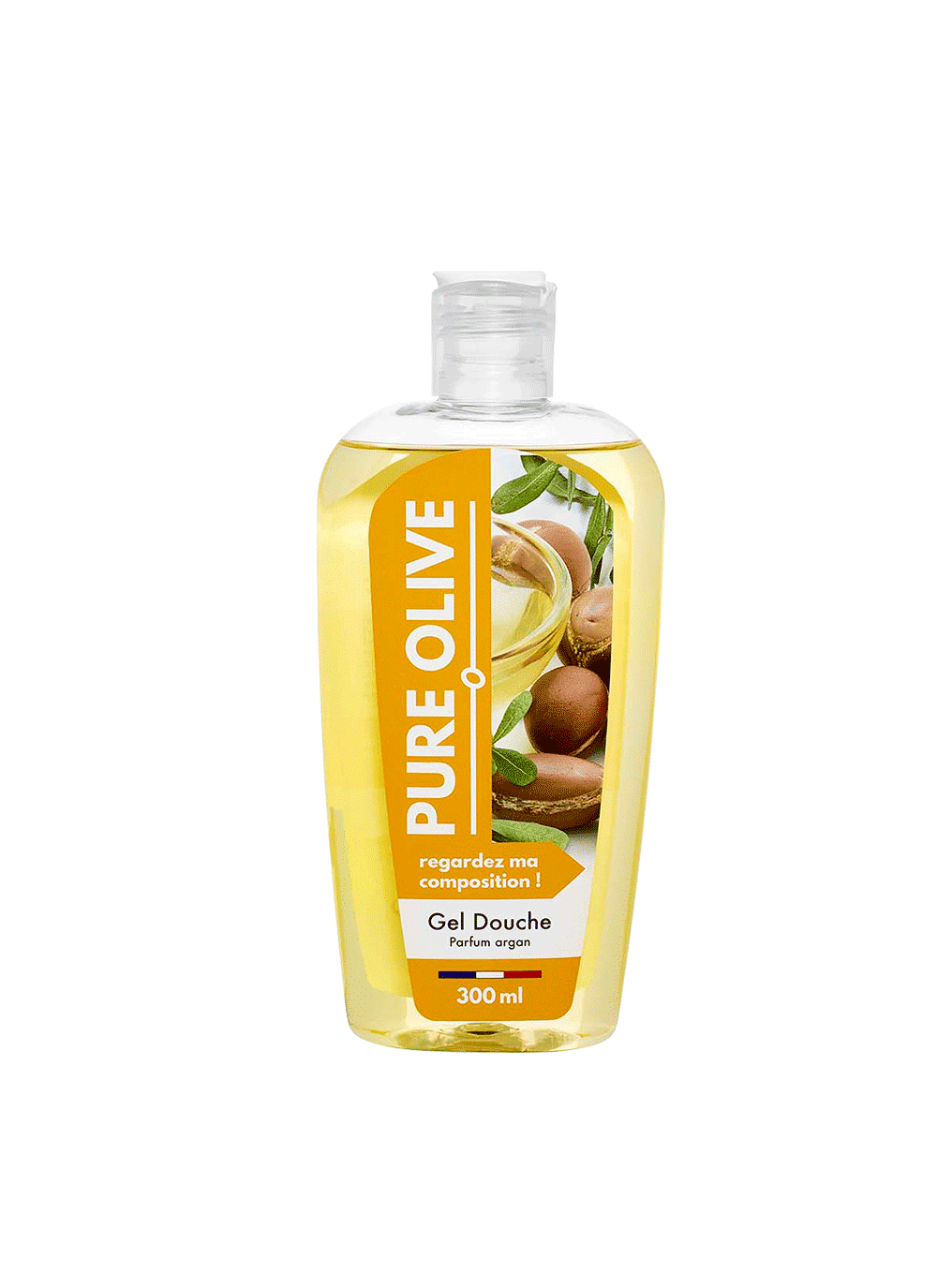 Gel douche Argan, Pure Olive (300 ml)