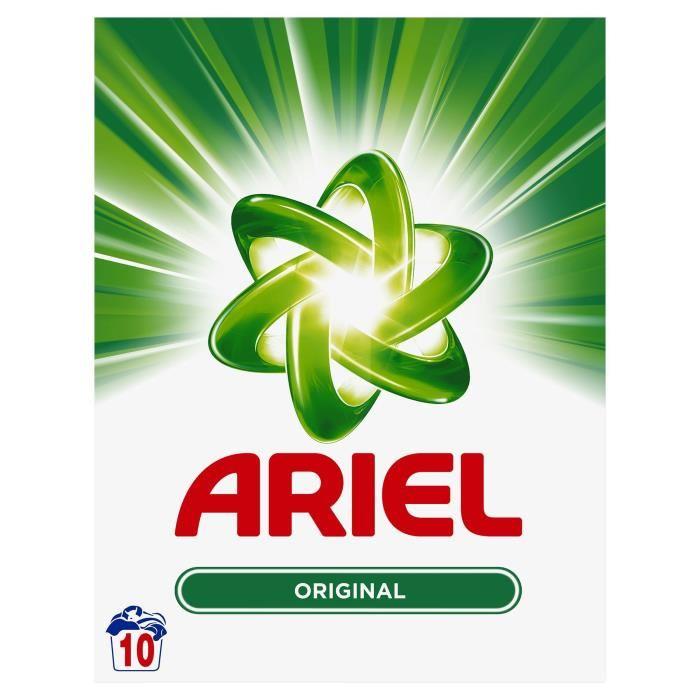 Lessive en poudre 10 doses régulier, Ariel (650 g)