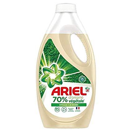 Lessive liquide 70% d'origine végétale 20 doses, Ariel  (1.1 L)