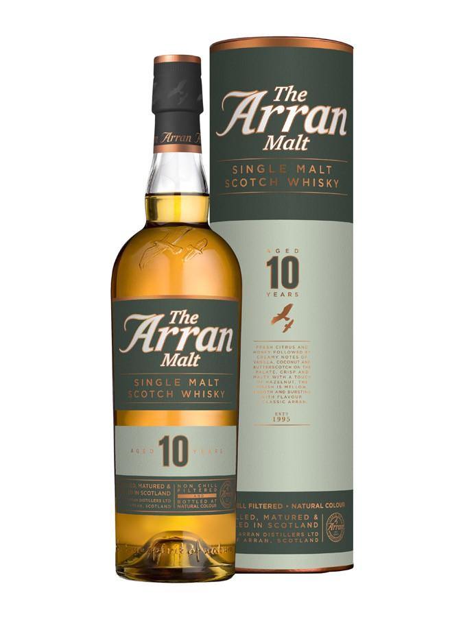 Whisky Arran 10 ans d'âge (70 cl)