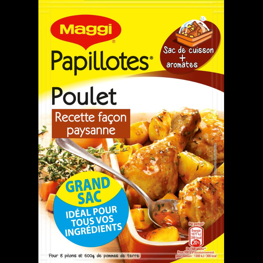 Assaisonnement pour papillotte Petits Mijotés Paysanne, Maggi (32 g)