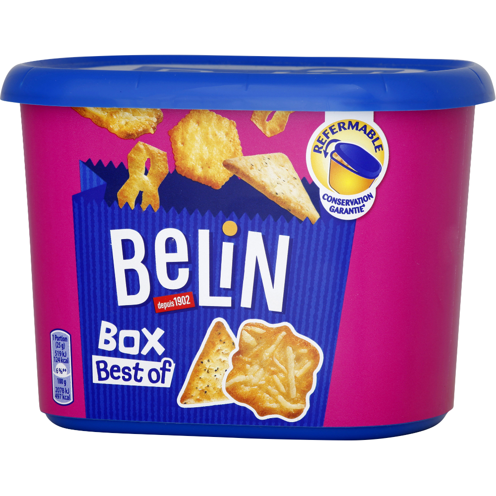 Assortiment de crackers Best Of Box, Belin (205 g)
