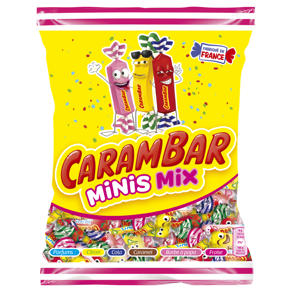 Assortiment Mini Carambar (220 g)
