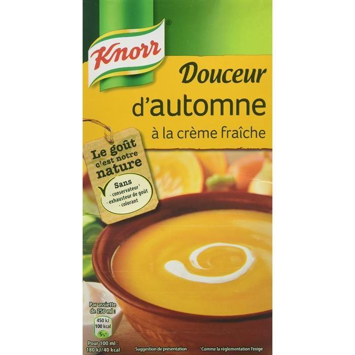 Douceur d'Automne à la Crème fraiche, Knorr (1 L)