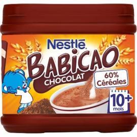 Babicao chocolat - dès 10 mois, Nestlé (400 g)