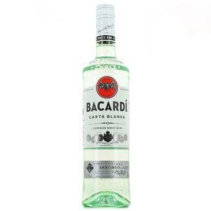 Rhum blanc Bacardi (70 cl)