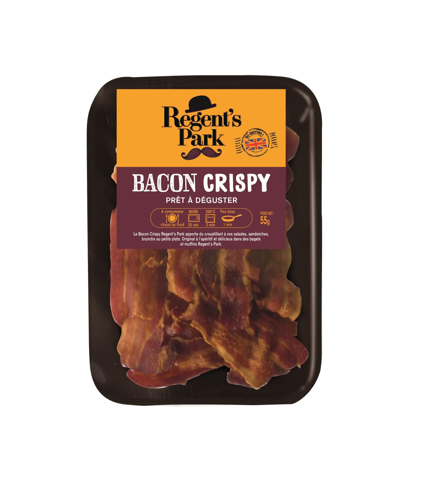 """Bacon """"crispy"""" précuit, Regent's Park (55 g)"""