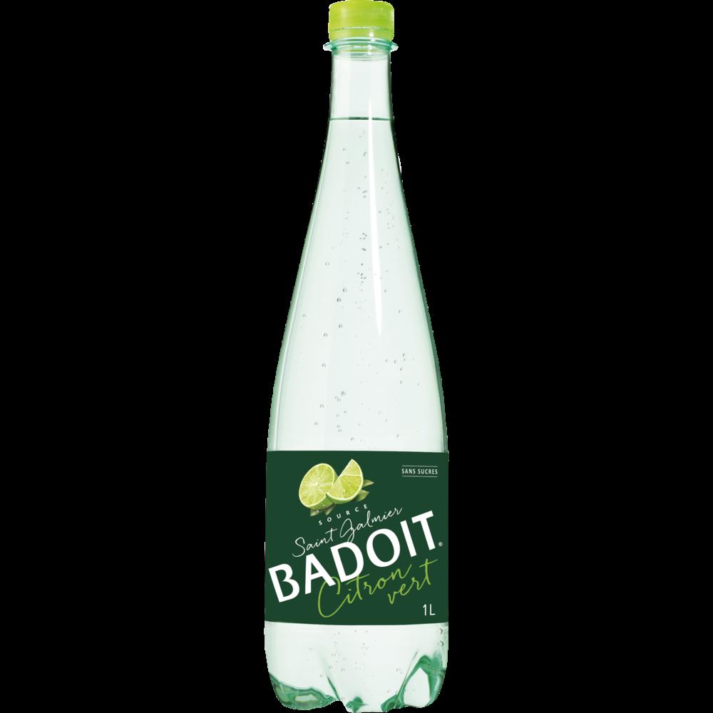 Badoit saveur citron vert sans sucre (1 L)