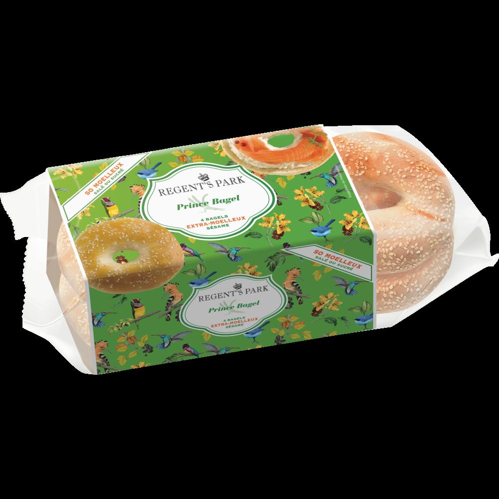 Bagels au sésame, Regent's Park (x 4, 250 g)