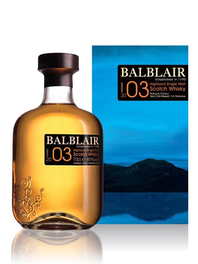 Whisky Balblair 2003 (70 cl)