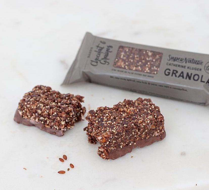 Barre Granola au chocolat BIO, SuperNature (x 3)