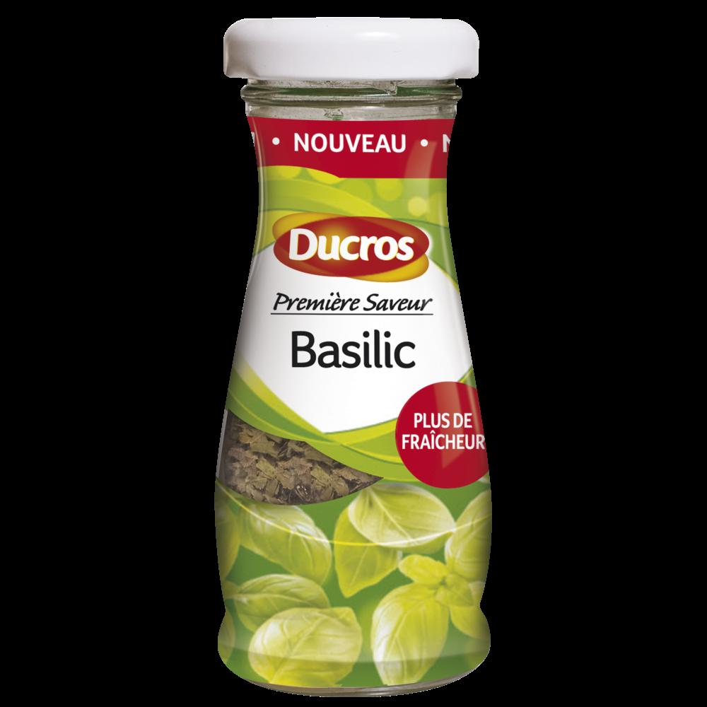 Basilic première saveur, Ducros (3,5 g)