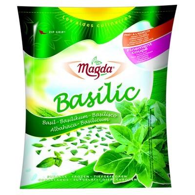 Basilic feuille surgelé, Magda (75 g)