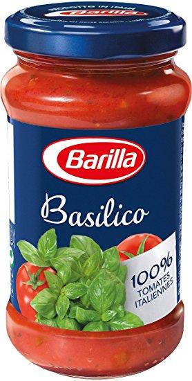 Sauce tomate au basilic, Barilla (200 g)