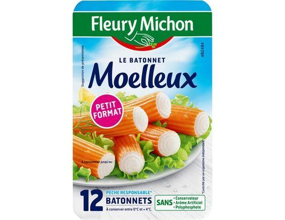 Bâtonnet de surimi saveur crabe, Fleury Michon (x12, 200 g)