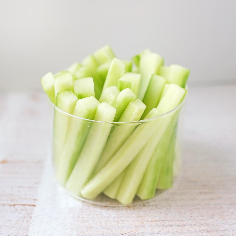 Bâtonnets de concombre