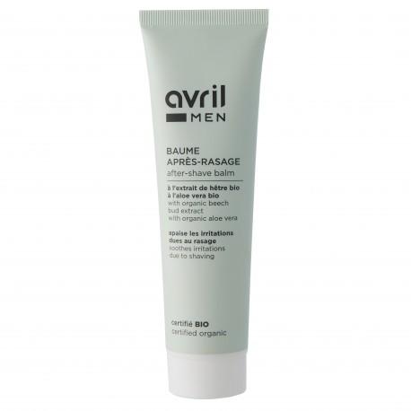 Baume après-rasage certifié BIO, Avril MEN (100 ml)