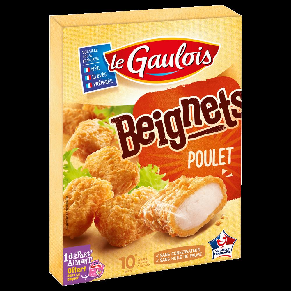 Beignets de poulet, Le Gaulois (x 10, 200 g)