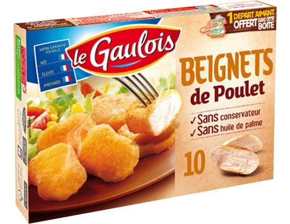 Beignets de poulet, Le Gaulois (x10, 200 g)