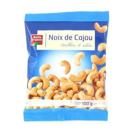 Noix de cajou grillées et salées, Belle France (100 g)