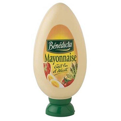 Mayonnaise nature flacon souple, Bénédicta (400 g)