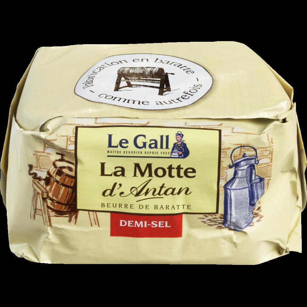 Beurre de baratte demi-sel La motte d'antan, Le Gall (250 g)