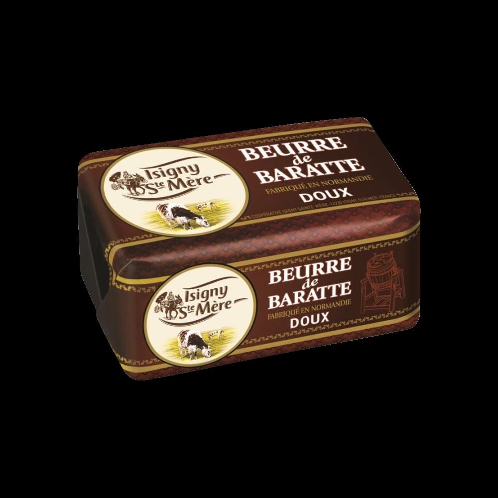 Beurre doux de baratte, Isigny Sainte Mère (250 g)