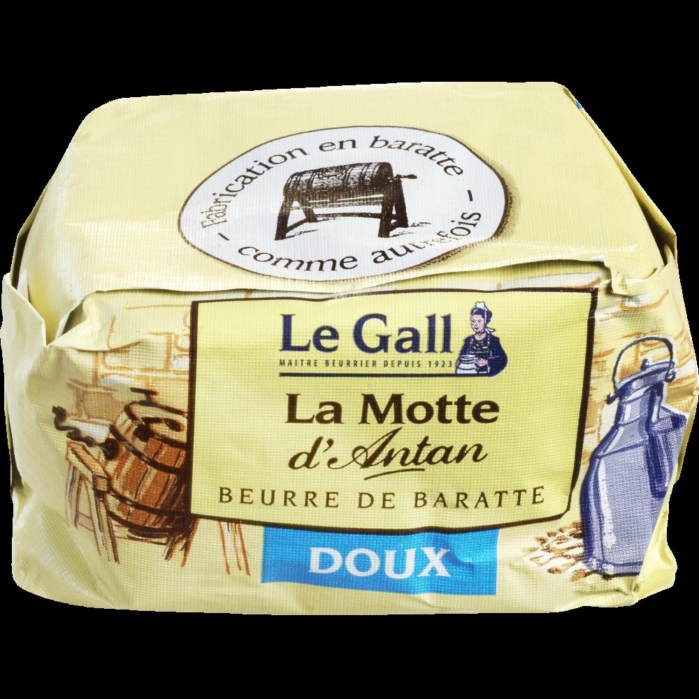 Beurre doux de baratte La motte d'antan, Le Gall (250 g)