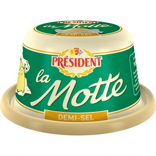 Beurre demi-sel La motte, Président (250 g)