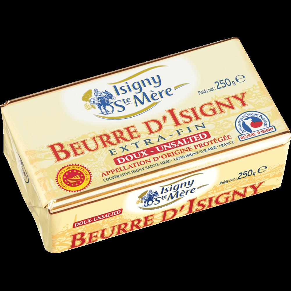 Beurre doux AOP, Isigny Ste Mère (250 g)