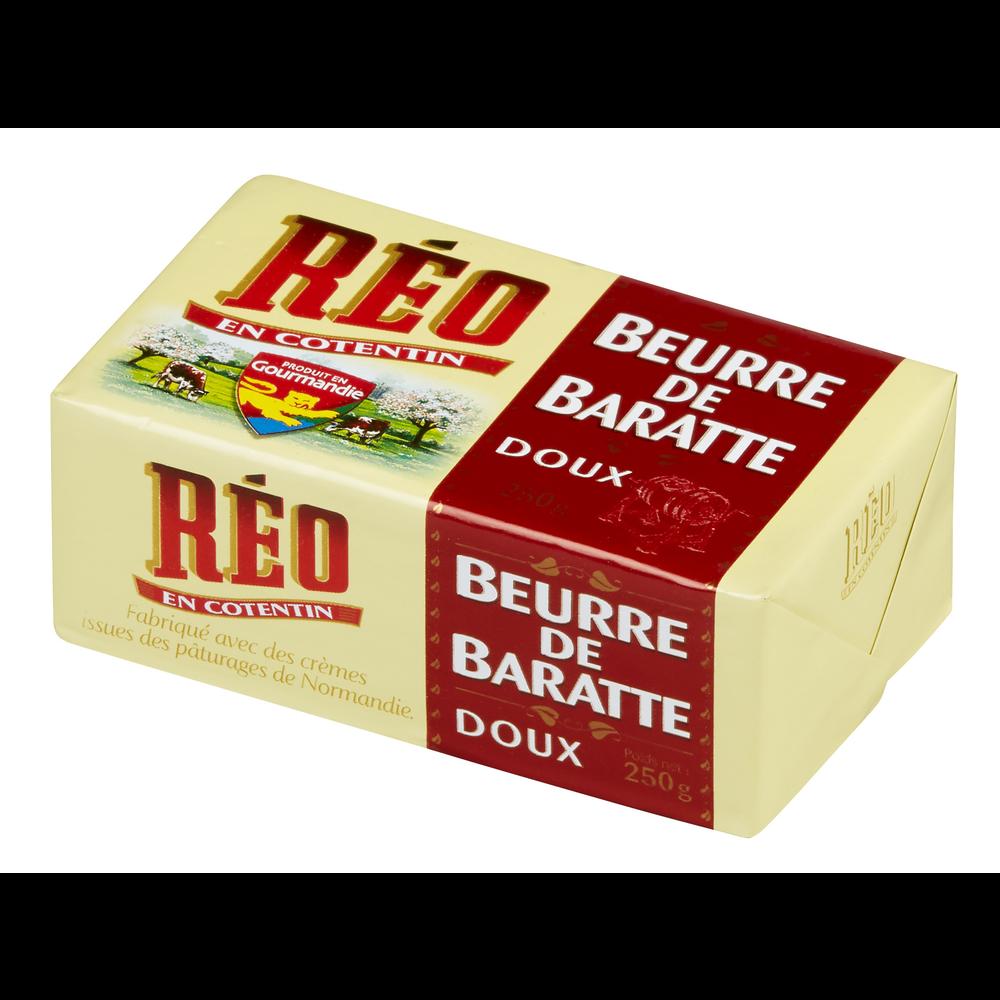Beurre doux de baratte, Réo (250 g)
