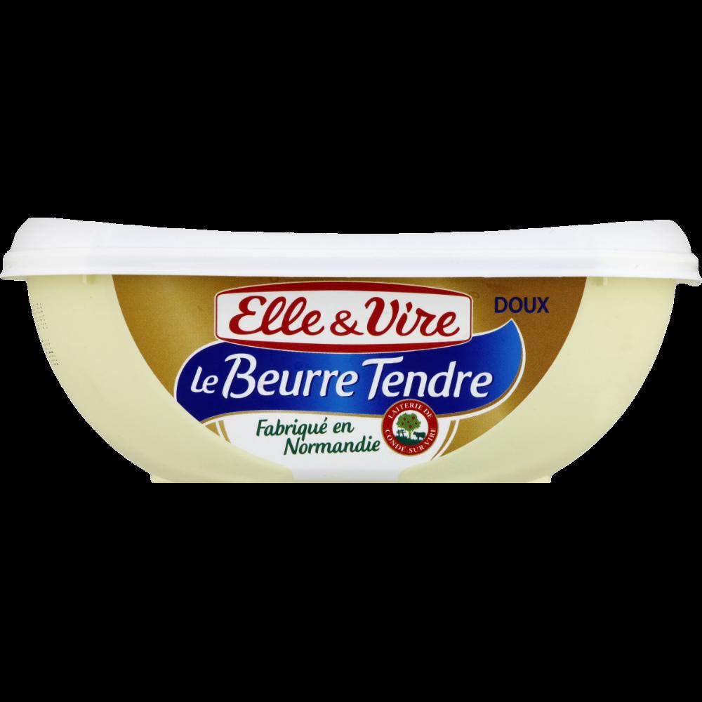 Beurre doux tendre normand, Elle & Vire (250 g)