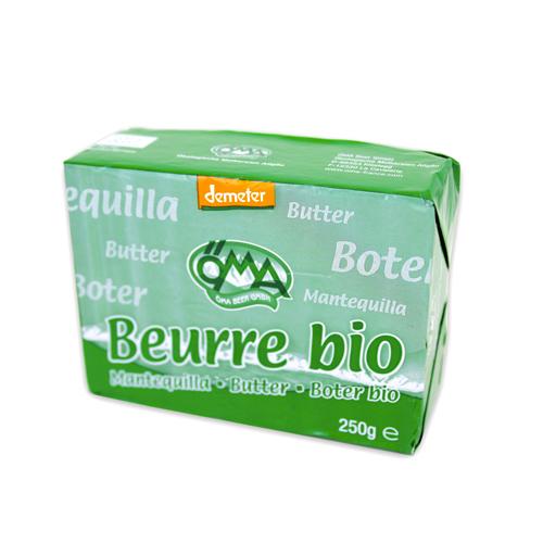 Beurre doux Bio, Öma (250 g)