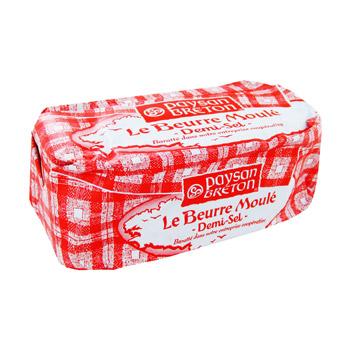 Beurre demi-sel moulé, Paysan Breton (500 g)