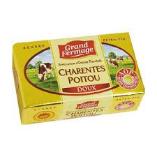 Beurre doux des Charentes AOP, Grand Fermage (250 g)