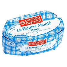 Beurre doux moulé, Paysan Breton (250 g)