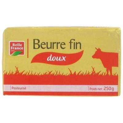 Beurre fin doux, Belle France (250 g)