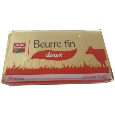 Beurre fin doux, Belle France (125 g)