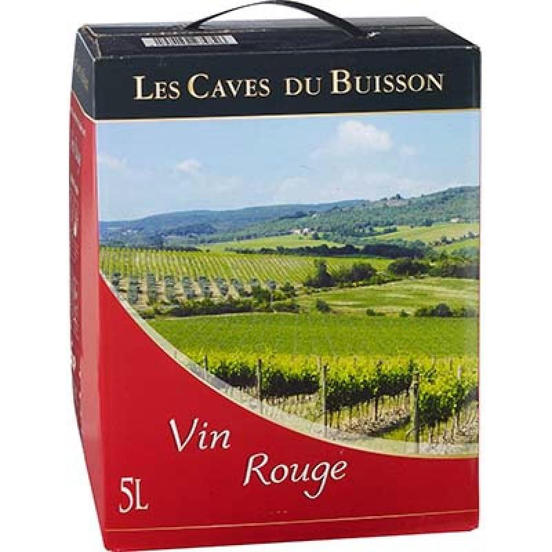 BIB vin rouge / Les caves du Buisson (5 L)