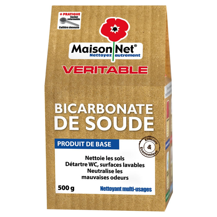 Bicarbonate de soude, Maison Net (500 g)