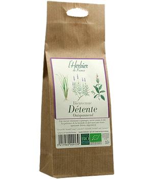 Mélange de plantes Bienvenue détente BIO, Herbier de France (35 g)