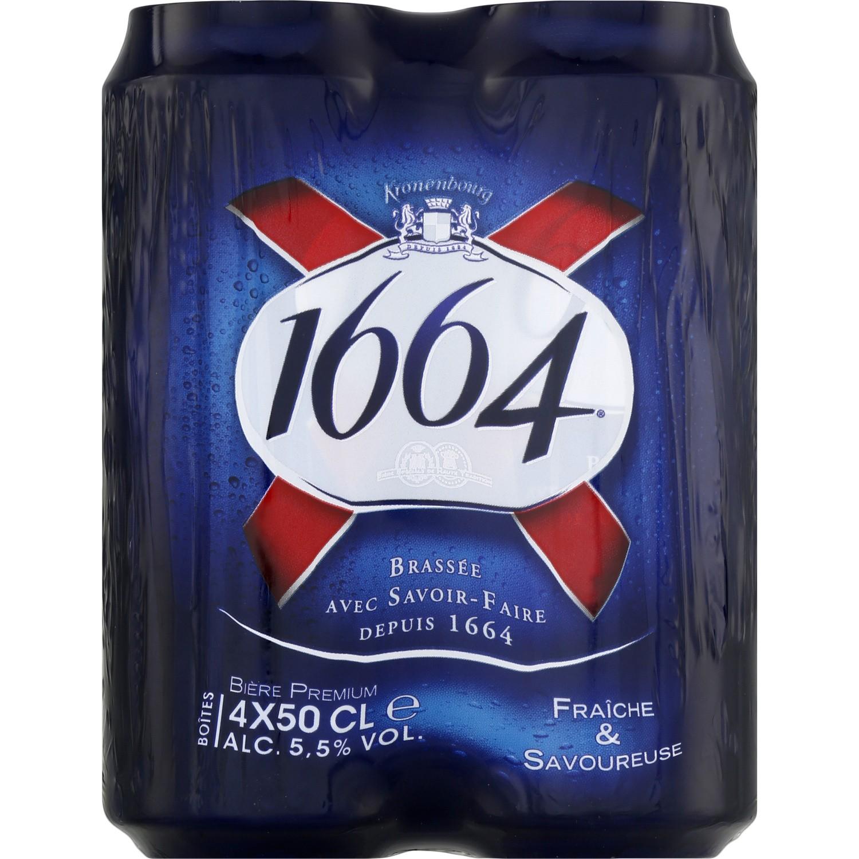 Bière 1664 (4 x 50 cl)