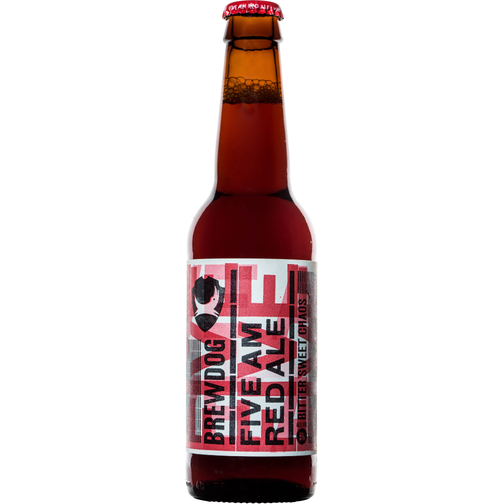 Brewdog 5 AM Red Ale, 5°, ( 33cl )